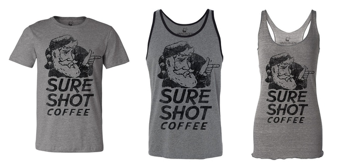Sure Shot Coffee- Shirts and Tanks