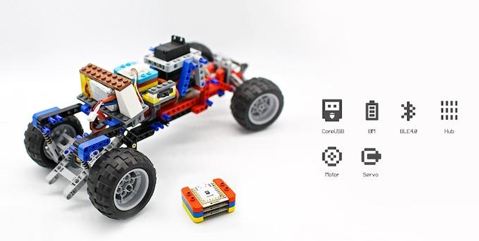 mCookie robot car control unit