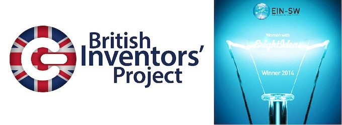 Finalists of British Inventors Project 2014.                                Winners of 'Women with Bright Ideas' 2014