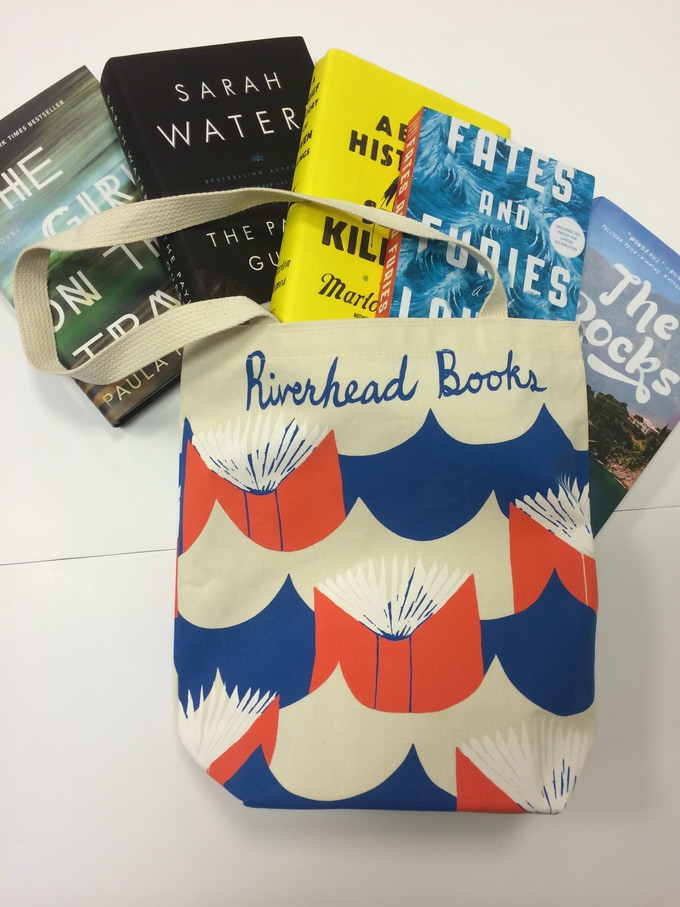 For $150: Our friends at Riverhead Books have filled the beloved Riverhead tote bag with some of their favorite new releases.