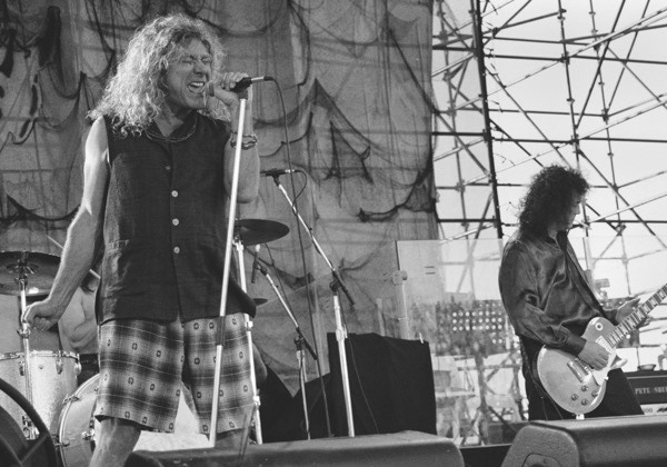 Jimmy Page & Robert Plant - Limited Edition Print by Darren Balch