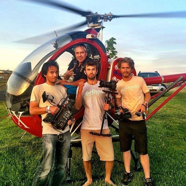 Fly high above The Gorge at Watershed with Chopper Dave!