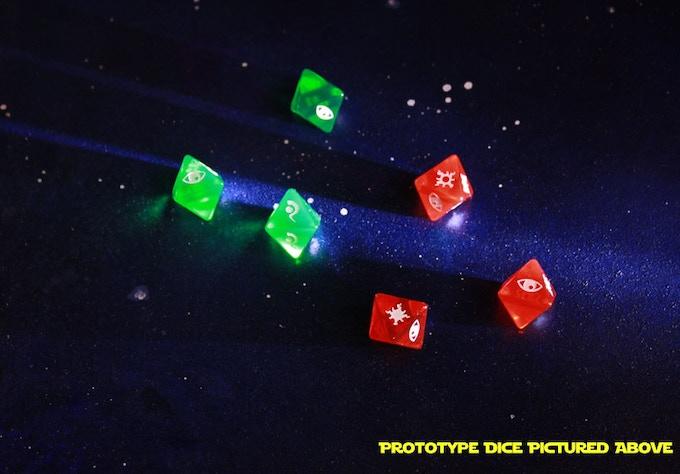 Prototype dice