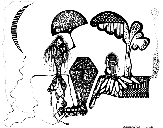 La Luciérnaga Illustration