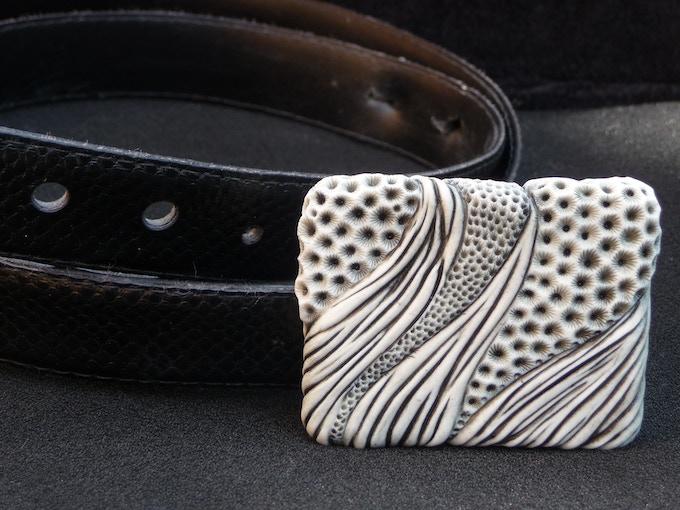 Reward #19. Belt Buckle - Design: POLLEN & CANE.