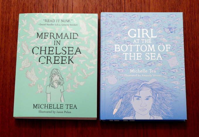 For $70: The first two books in Michelle Tea's great young adult Chelsea Trilogy, plus our tote and digital bundle.