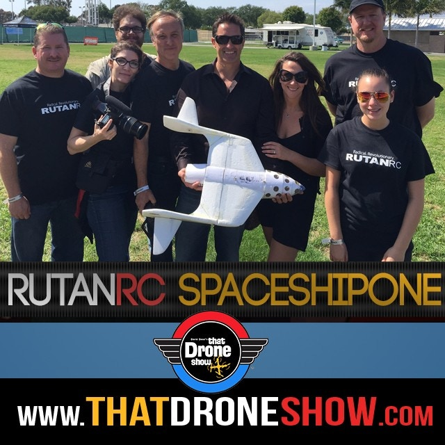 the RutanRC team at RCX this past weekend