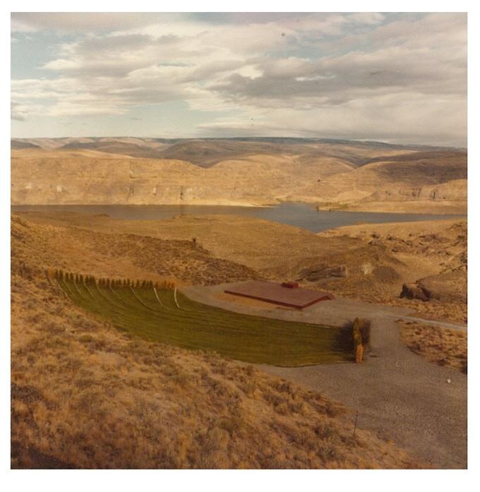 The Gorge Amphitheatre circa 1986, Photo: Ken Kinnear