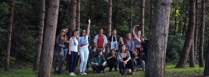 OV team and guests in Samobor
