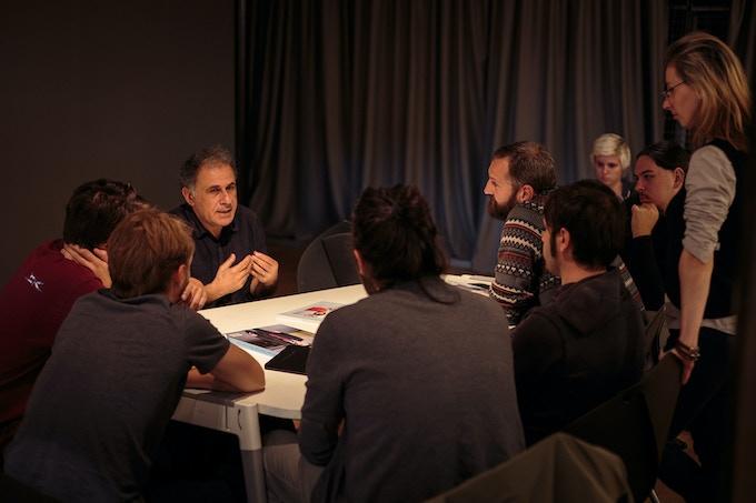 George Georgiou's workshop at OV6