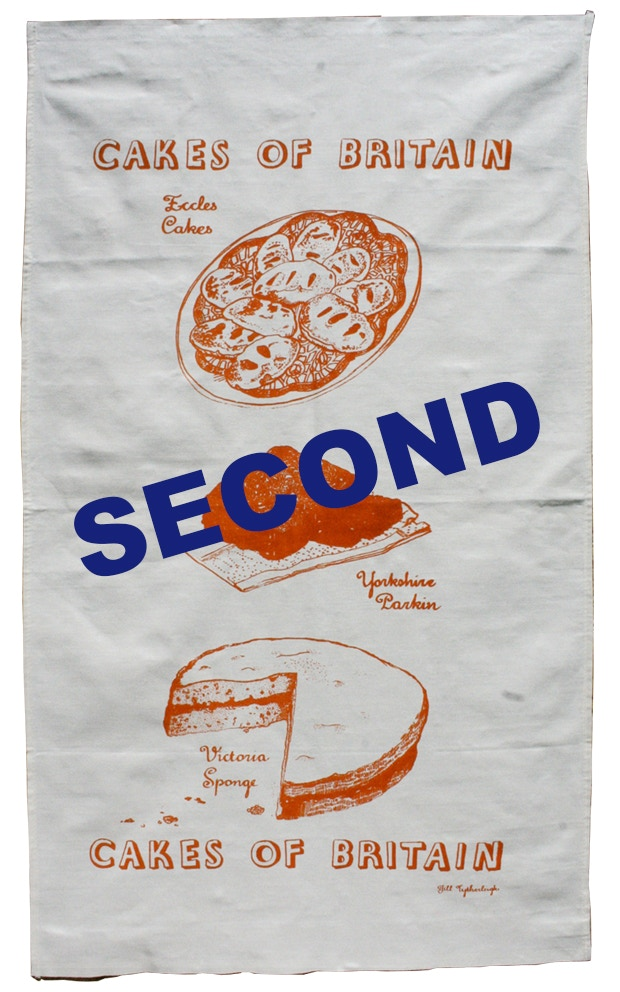 Tea Towel and Tote Bag 'Seconds' - misprints and incorrect colour matches