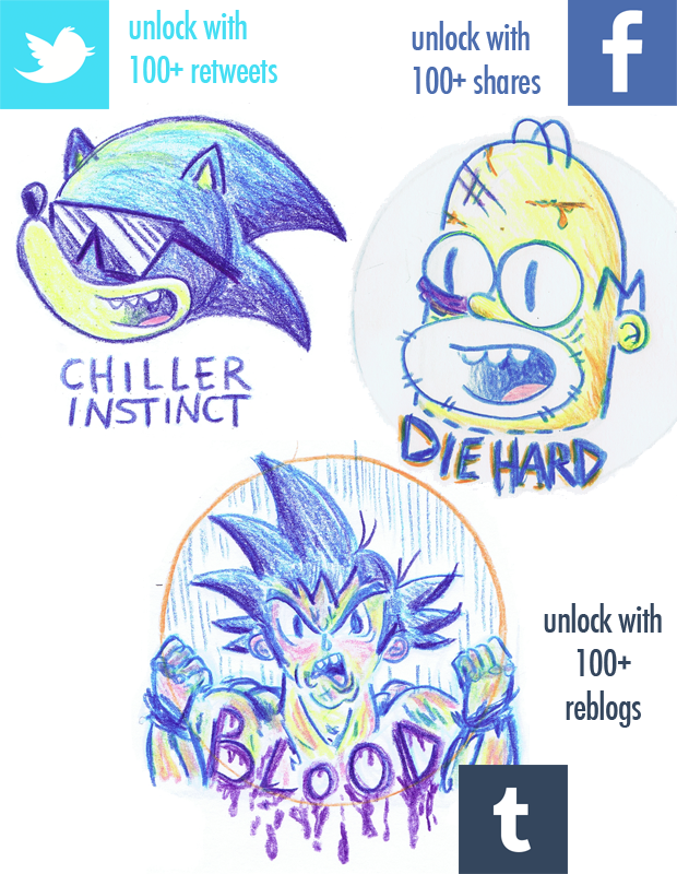 Unlock these stickers by tweeting!