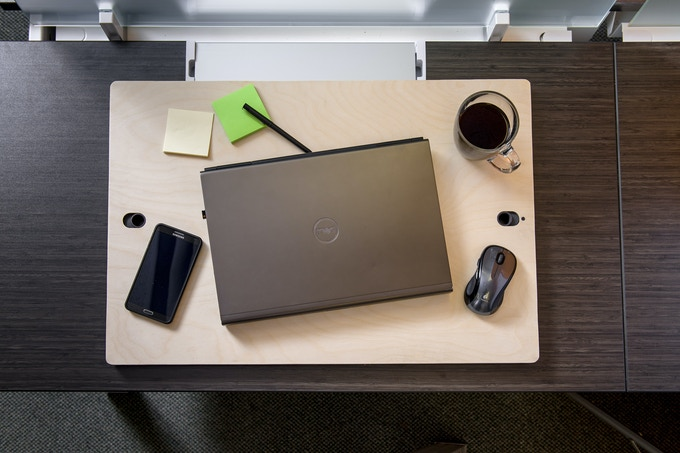Lift Top has room for everything you need.  The perfect size of portability and productivity!