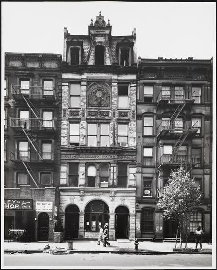 VSPOT Organic location - vintage photo of 12 stMarks pl. 10003