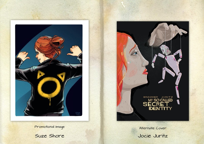 Mock-up of the guest art portfolio for Volume 2