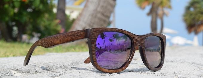 Muskoka Dark Grain - Purple Lens