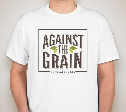 Against The Grain T-Shirt (100% Cotton)