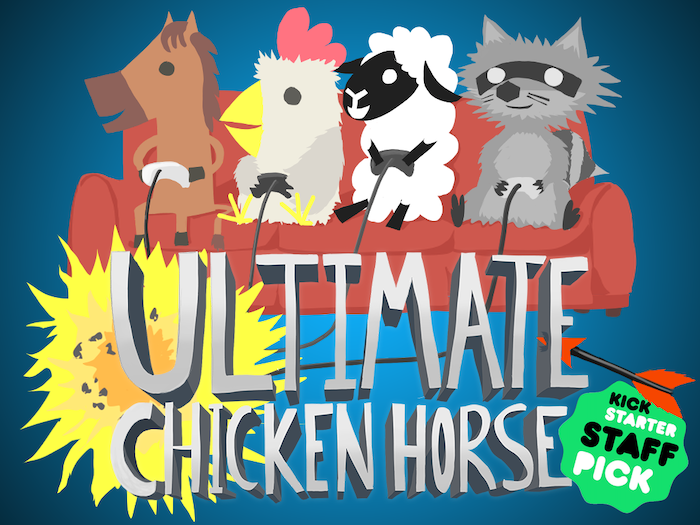 Ultimate Chicken Horse by Clever Endeavour Games — Kickstarter