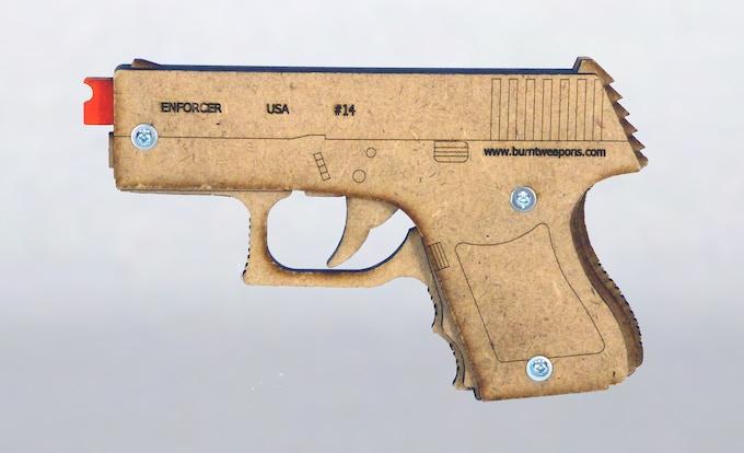Enforcer 5 shot step up pistol (prototype)