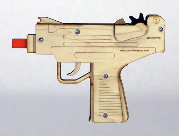Destroyer full auto machine pistol (prototype)