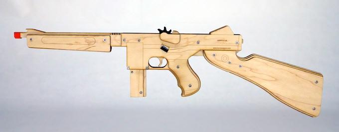 Annihilator sub machine gun (prototype)