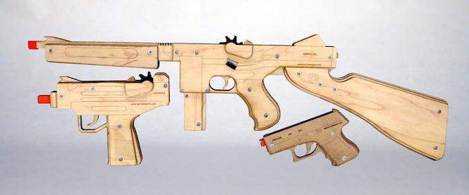 Triple Threat Pack (prototypes)