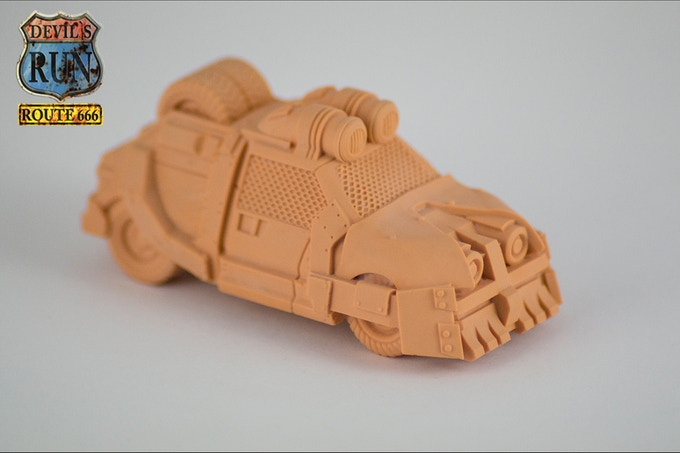 3D Print 'Orange' of the Law Car