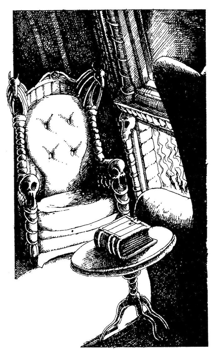 Illustration originale de Léo Hartas en vente avec la contrepartie à 750 euros