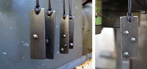 Sonderedition Stahlschmuck von Vela