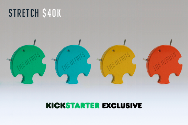 We really want our tool in your hands, which is why it's been added to nearly every reward tier. At this level of funding we'll be able to give every eligible Backer the KickStarter-exclusive tool in their choice of the 4 different character colors