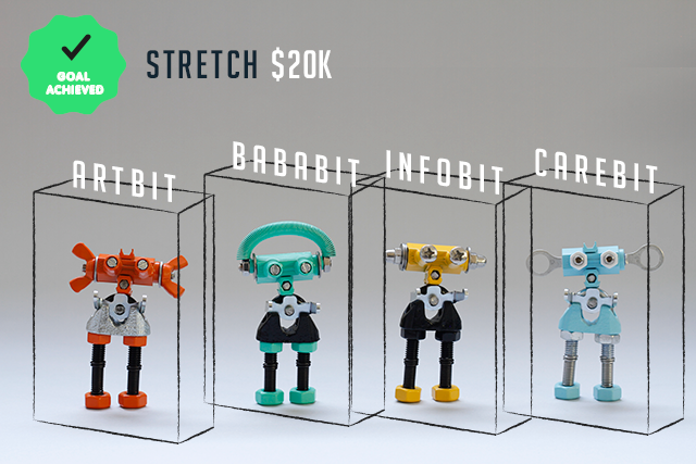 Each character will now come in its own custom-designed box, so your OFFBIT will have the housing it deserves!