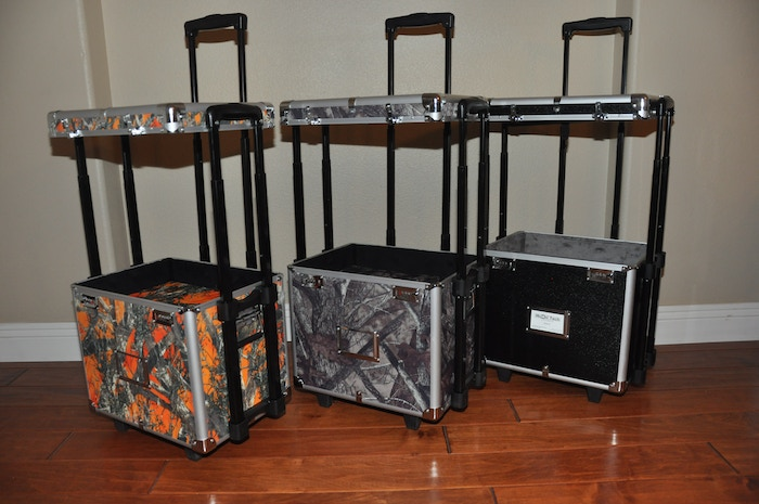 A luggage that is more than a luggage! It is what you want it to be.