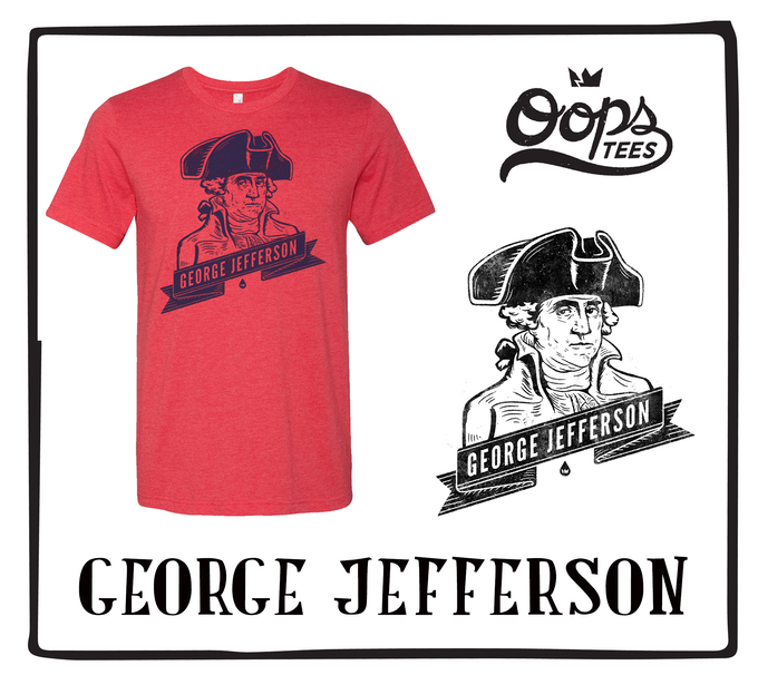 George Jefferson (Available in Red)