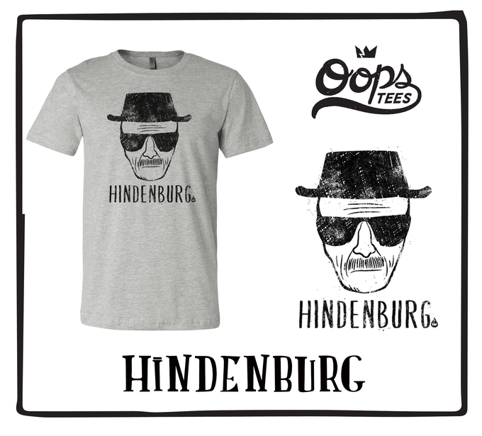 Hindenburg (Available in Light Gray)