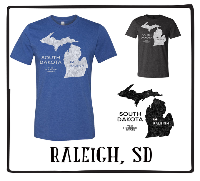 Raleigh, SD (Available in Royal Blue & Black)