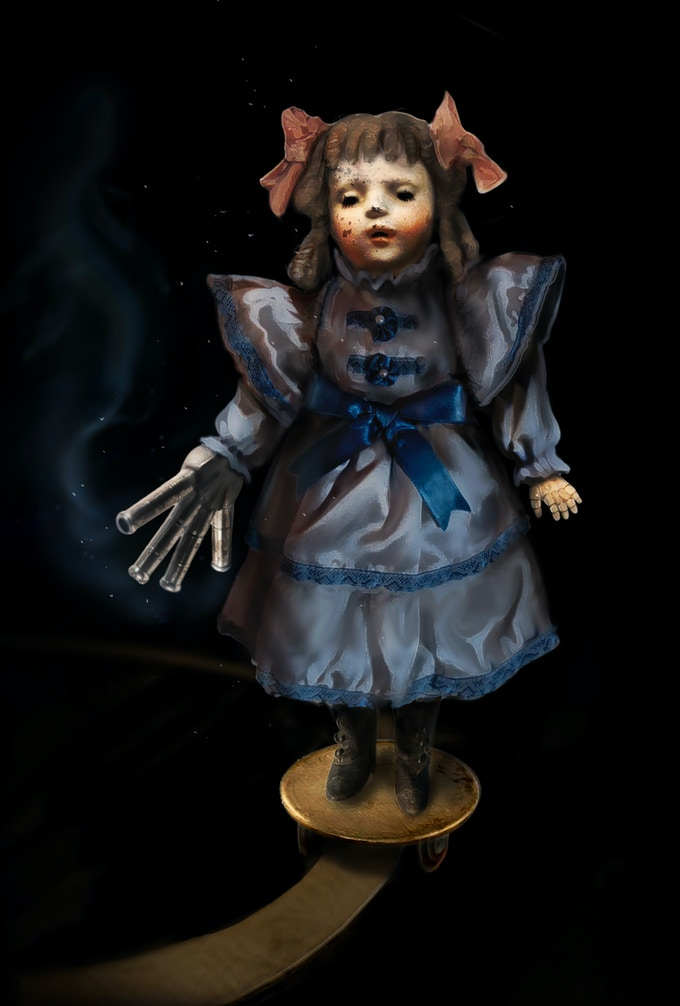 Poppets roam the halls of Echo Bluff in one chapter