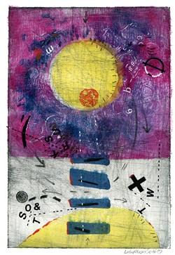 Example of Lisa Moon Self artwork