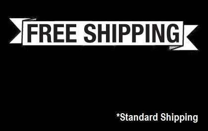 Free standard shipping on all rewards!