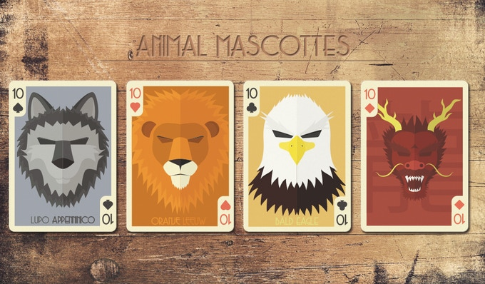 difference between countries of the animal card