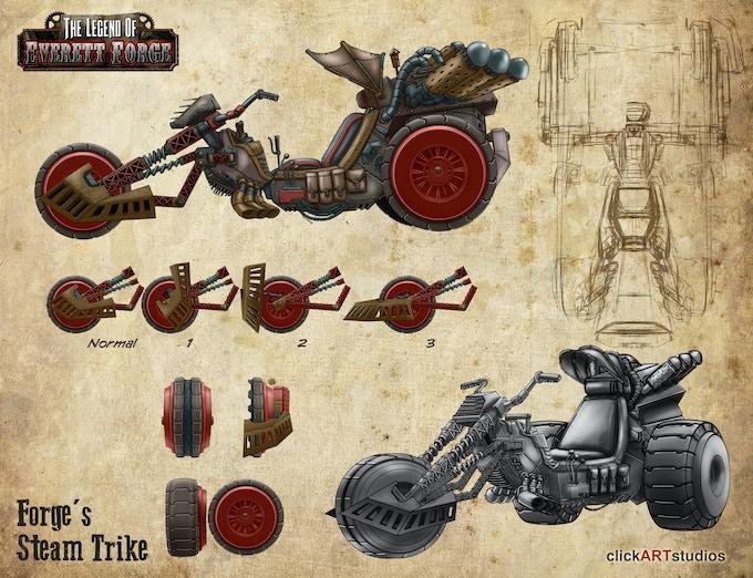 Forge's Steam Trike