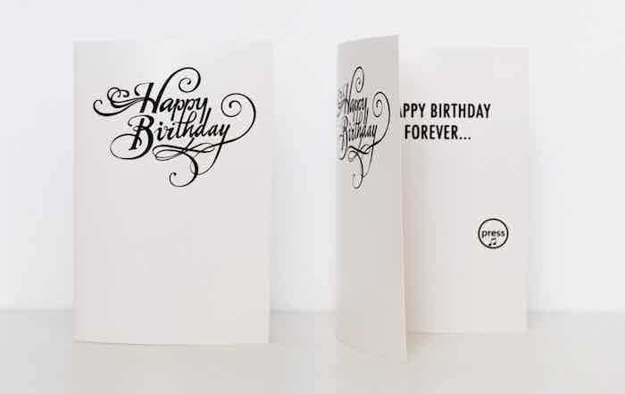 Joker Greeting, a birthday card that doesn't stop playing its annoying birthday song