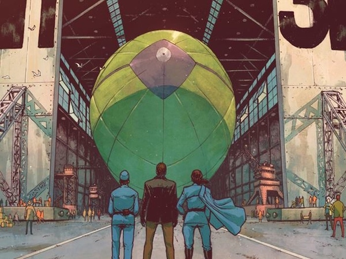 Skies of Fire, a limited comic series by Vincenzo Ferriero and Ray Chou