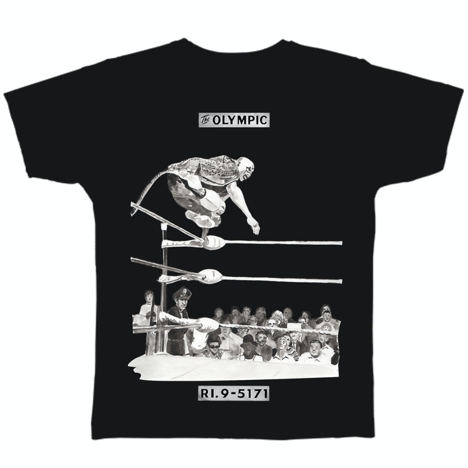 OVER THE ROPES tee shirt by Michael Richey White