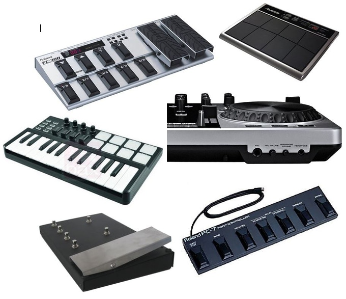 examples of usb midi controllers