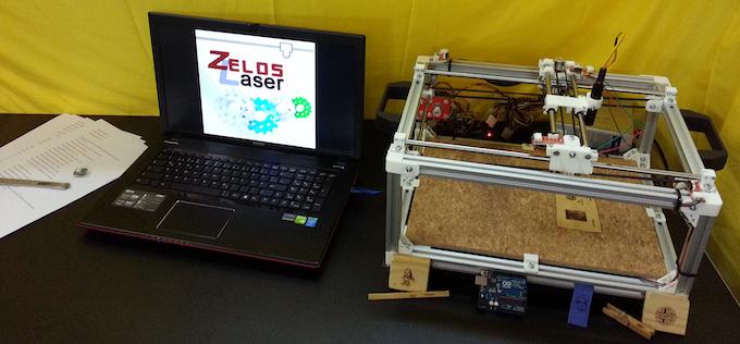 Zeloslaser open source laser engraver by