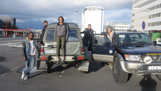 Finding Thule crew - Iceland, 2014