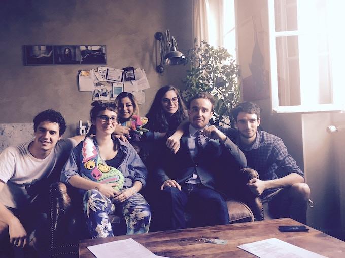 Art Kids Paris : l'équipe du tournage !