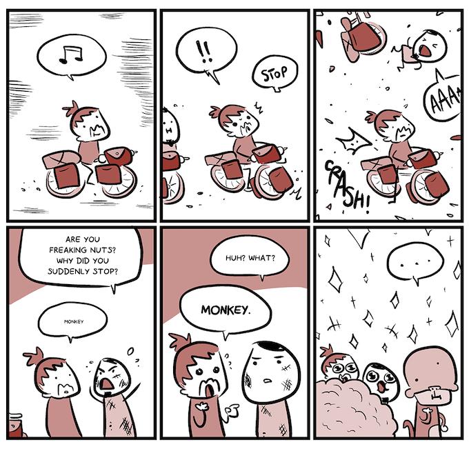 One of Sio's comics