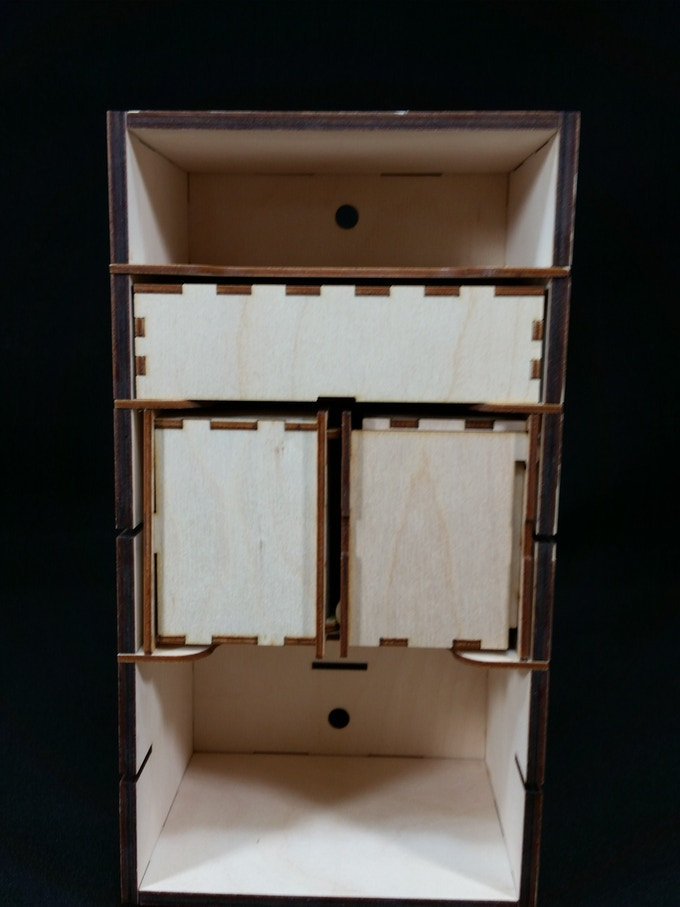 Single Stack Unit with Tuck Box and Deck Boxes