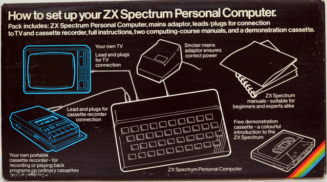 Caption: The original Sinclair ZX Spectrum was a genuinely innovative device.